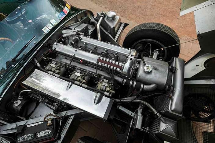 Двигатель Jaguar D-Type 1954 года выпуска