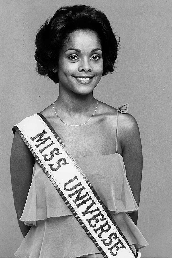 Джанель Комиссионг - чёрная Мисс Вселенная 1977