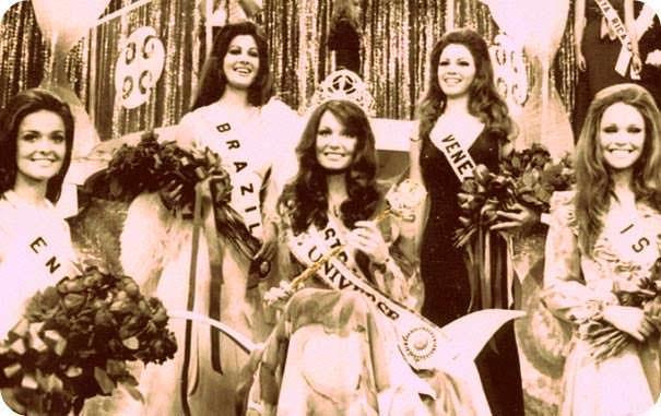 ТОП-5 участниц «Мисс Вселенная 1972»