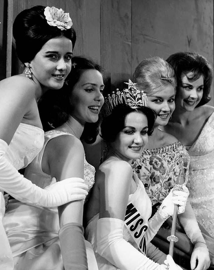 ТОП-5 «Мисс Вселенная 1960»