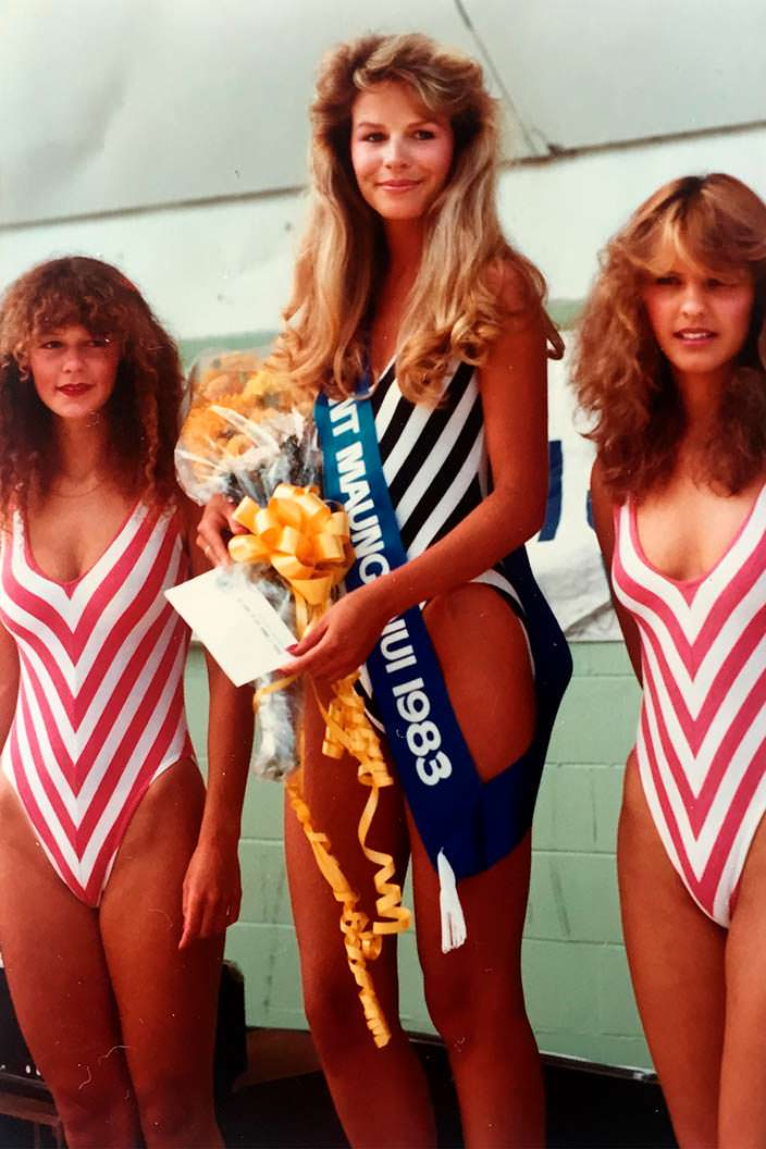 Лорейн Даунс - Мисс Новая Зеландия 1983