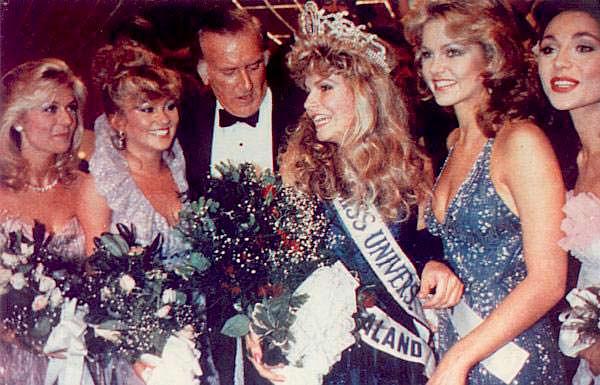 ТОП-5 конкурса «Мисс Вселенная 1983»