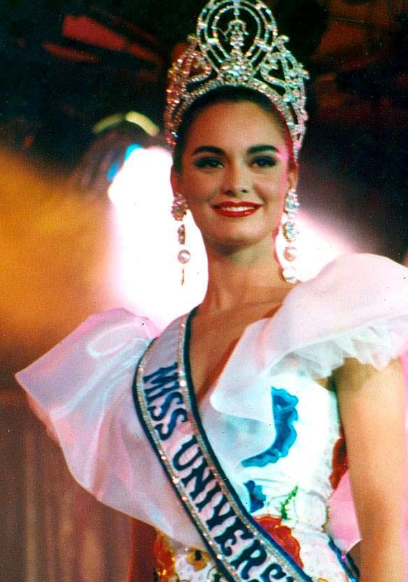 Лупита Джонс - Мисс Вселенная 1991