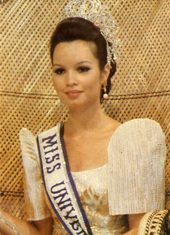 Мария Маргарита Моран - Мисс Вселенная 1973