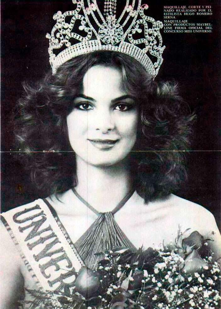 Марица Сайалеро - 28-я Мисс Вселенная
