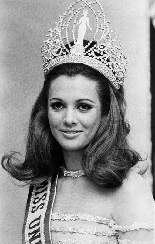 Марта Васконселлос - Мисс Вселенная 1968