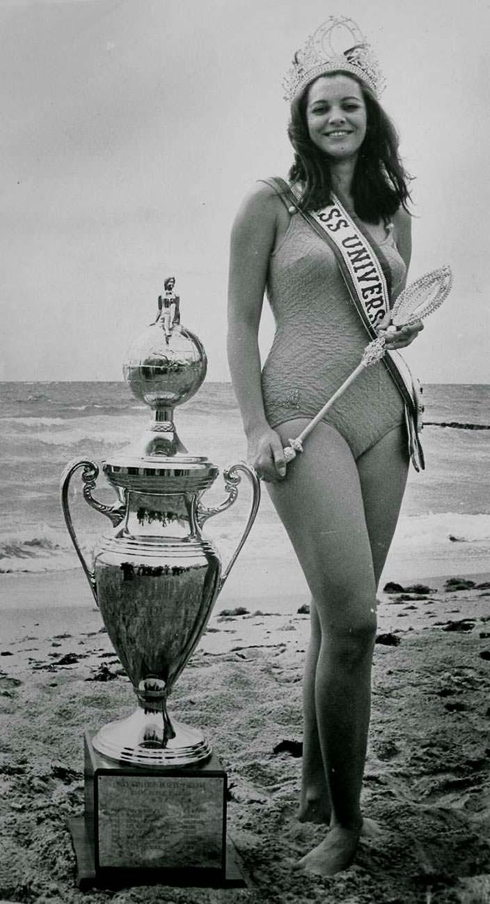 Марта Васконселлос - последняя Мисс Вселенная из Бразилии