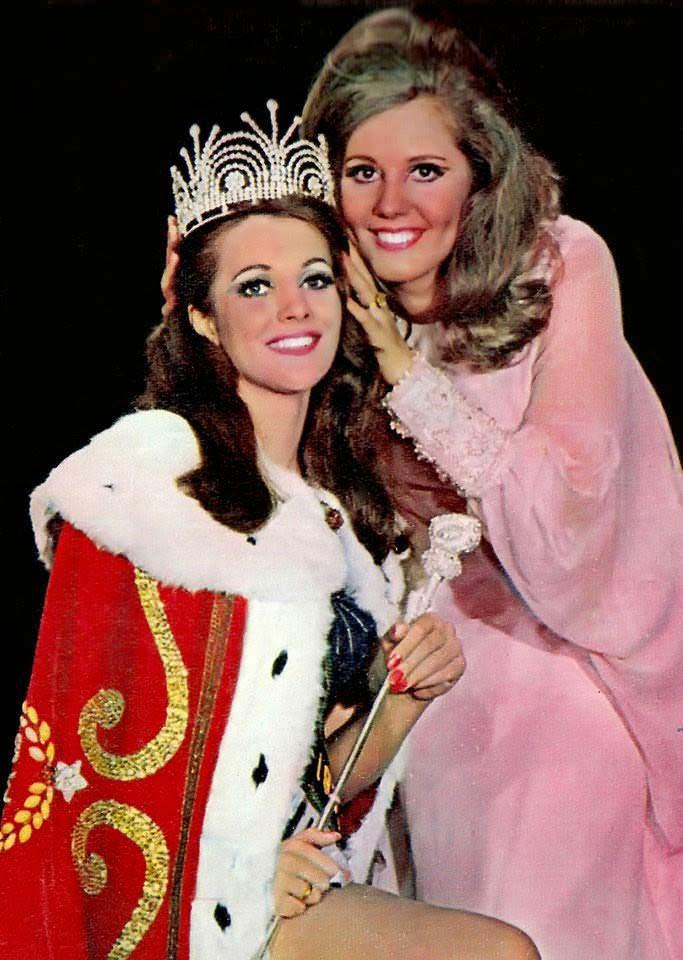 Марта Васконселлос - победительница Мисс Вселенная 1968 года