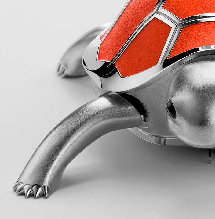Механическая черепаха MB&F Kelys & Chirp Mechanical Toy