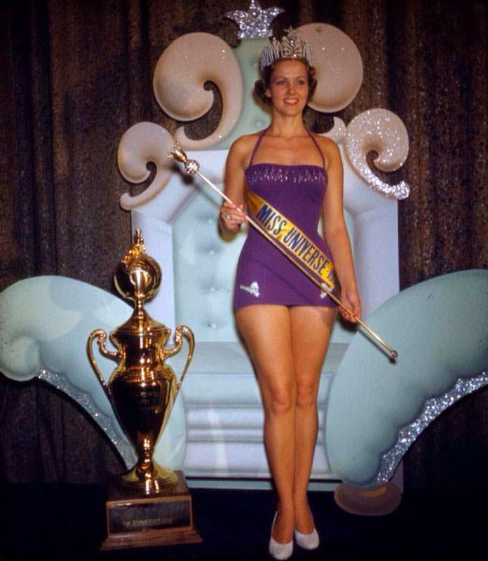 Мириам Стивенсон - Мисс Вселенная 1954 года