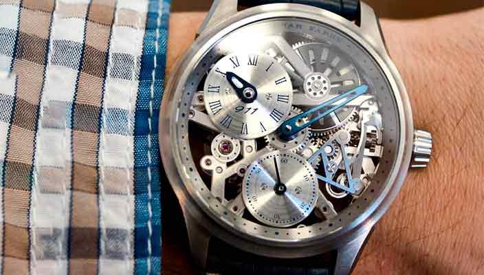 Molnar Fabry создала часы для владельцев Porsche 911