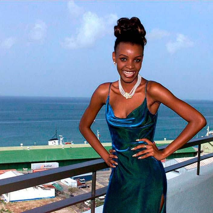 Мпуле Квелагобе - Мисс Ботсвана 1997 и 1999