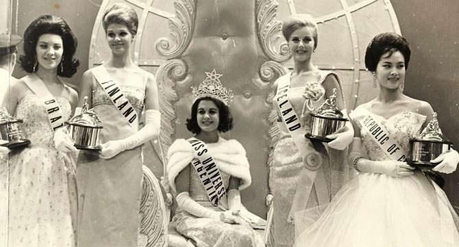 ТОП-3 участниц «Мисс Вселенная 1962»
