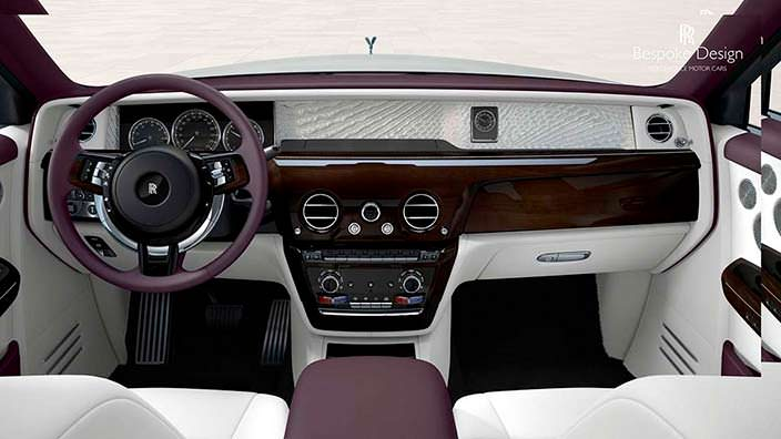 Салон 2018 Rolls-Royce Phantom