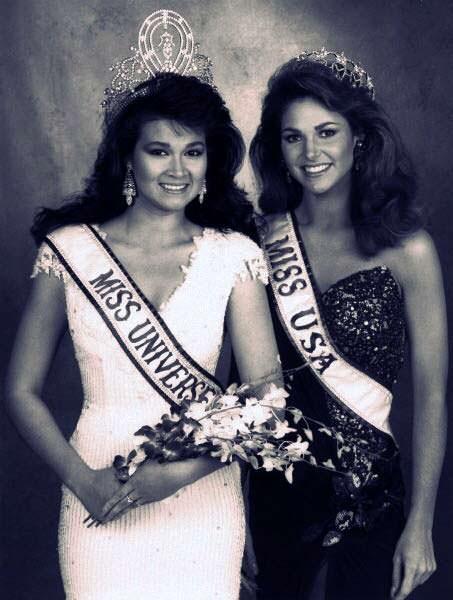 Мисс Вселенная и Мисс США 1988 года