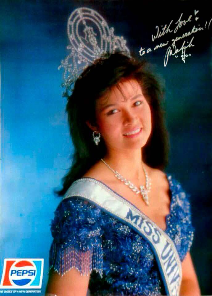 Порнтип Накирунканок - Мисс Вселенная 1988