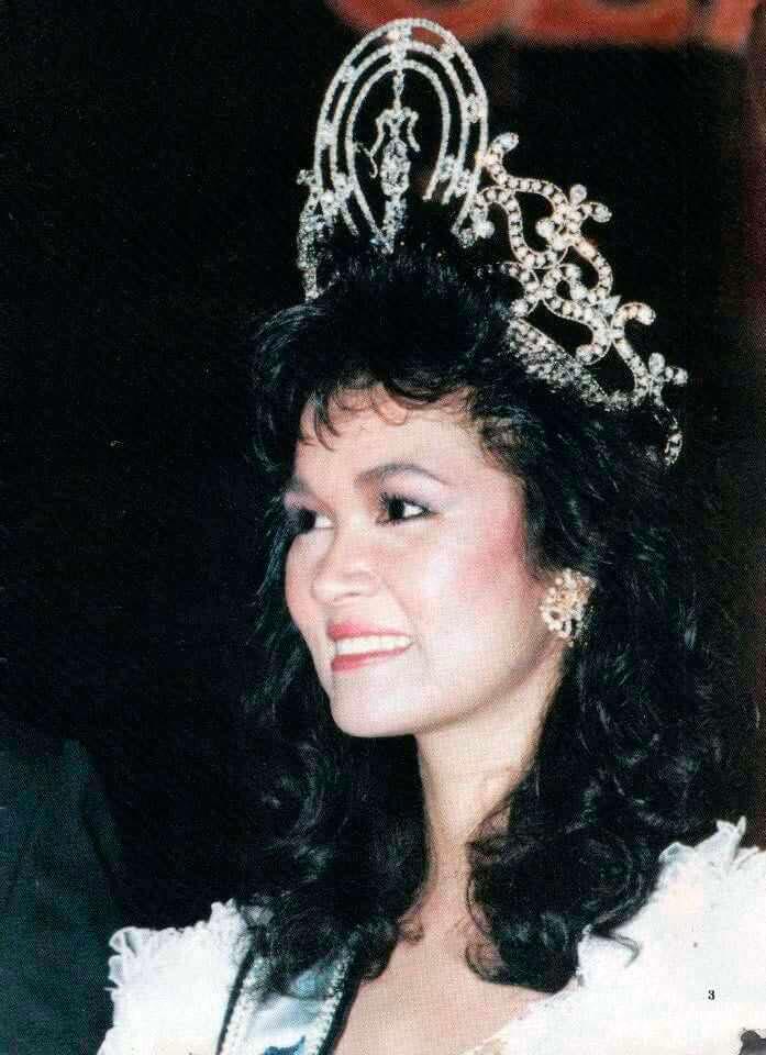 Порнтип Накирунканок - Мисс Вселенная из Таиланда