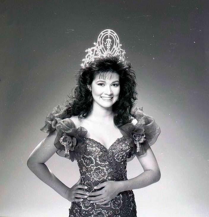 Порнтип Накирунканок - королева красоты 1988 года из Таиланда