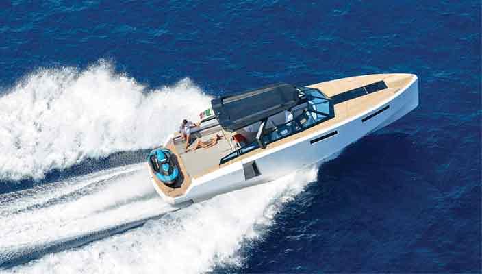 Прогулочный катер-трансформер WA Yachts официально   видео