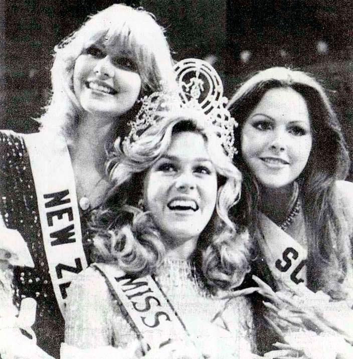 ТОП-3 «Мисс Вселенная 1980»