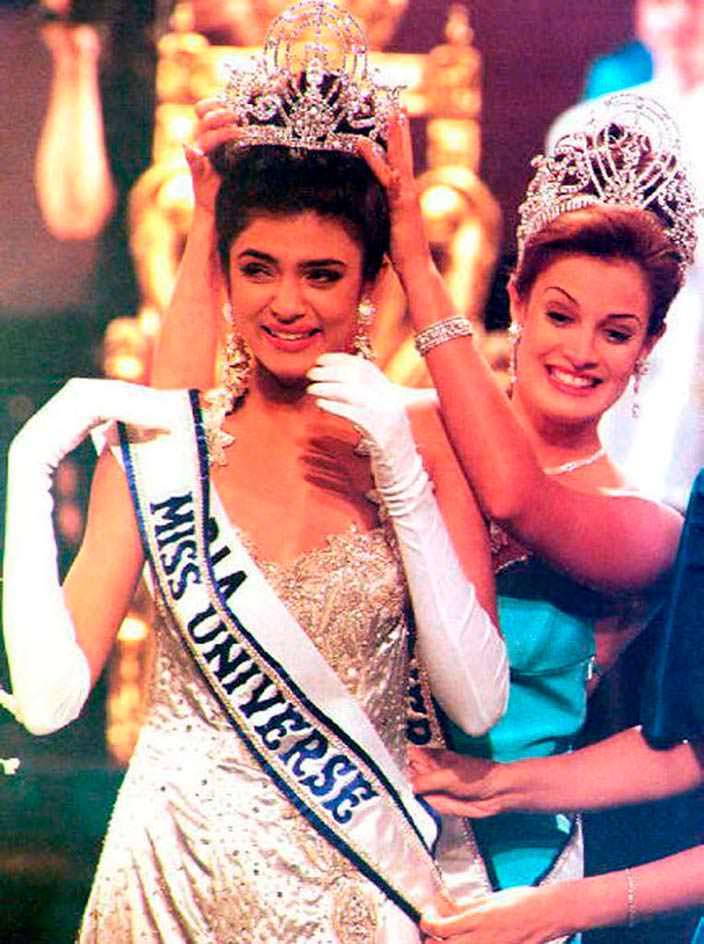 Сушмита Сен - Мисс Вселенная из Индии