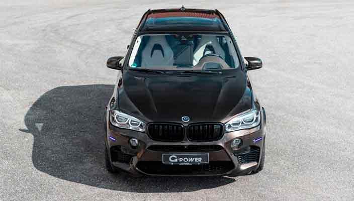 BMW X5 M на 750-сил: новый тюнинг от G-Power   фото