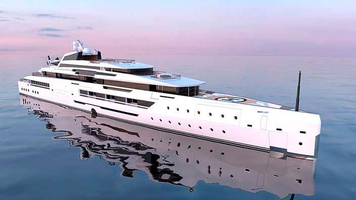 Ines: яхта с гаражом на два лимузина и подводной лодкой