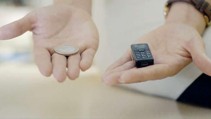 Zanco Tiny T1 - телефон легче монеты в £2