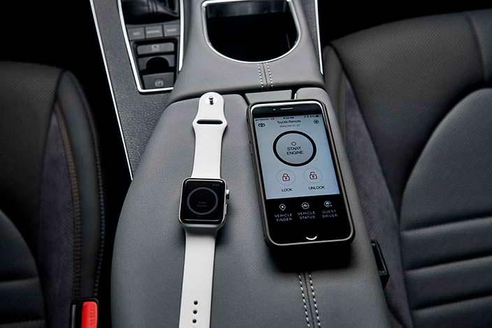 2019 Toyota Avalon: приложение для умных часов и смартфона