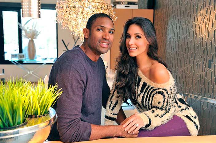 Баскетболист Эл Хорфорд и его жена Амелия Вега, Мисс Вселенная 2003