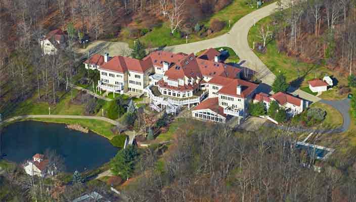 50 Cent продает дом с 19-спальнями со скидкой | фото, цена