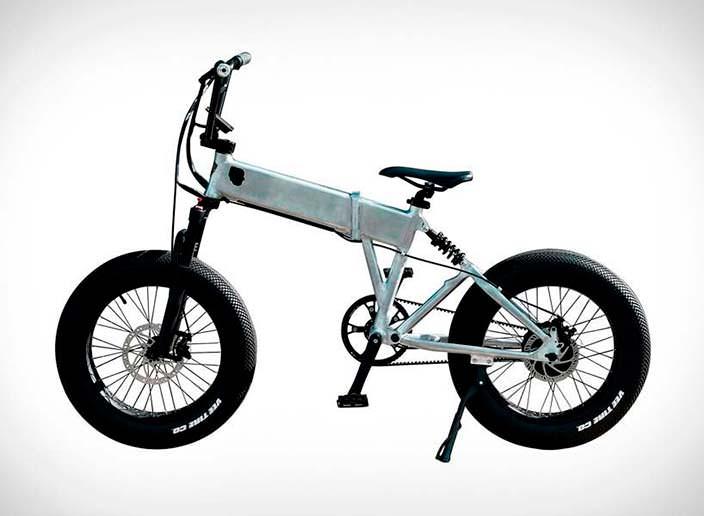 Складной электрический велосипед BMX от Enki Cycles