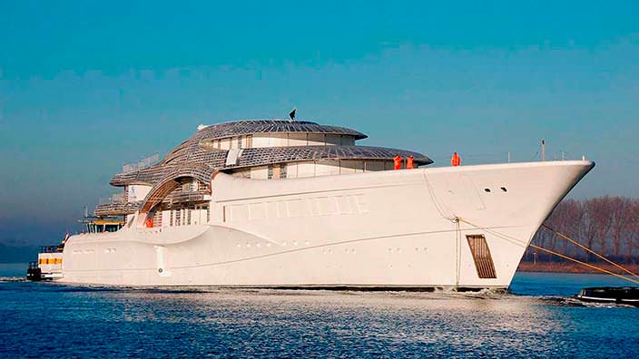 Яхта Feadship Project 1007. Длина 110 метров