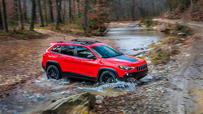 Новый Jeep Cherokee Trailhawk 2019 года