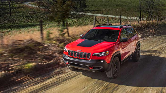 Рестайлинг Jeep Cherokee Trailhawk 2019 года