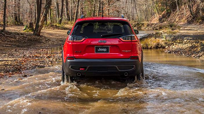 Обновлённый Jeep Cherokee Trailhawk