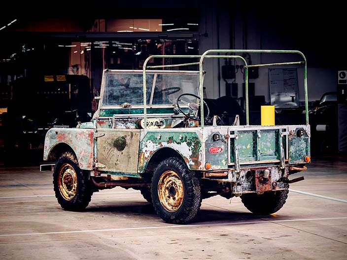 Первый Land Rover Series I 1948 года выпуска