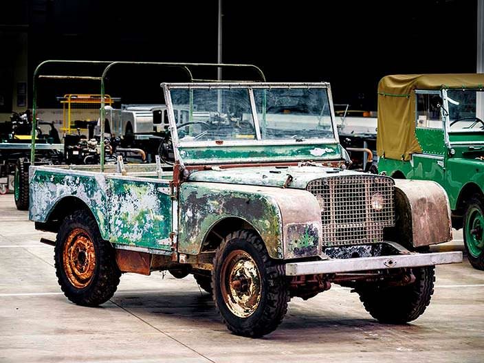 Первый Land Rover Series I. Реставрация Classic Works