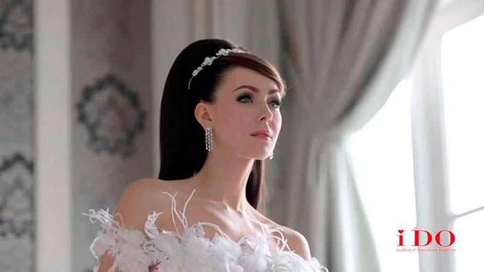 Фото | Наталья Глебова в свадебном платье