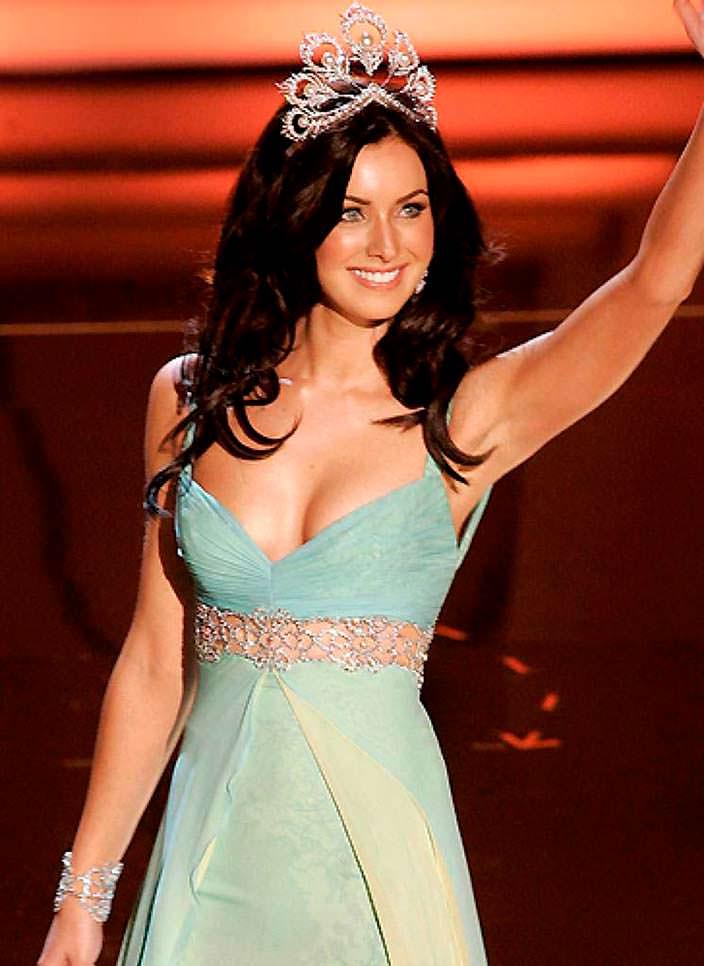 Наталья Глебова - победительница «Мисс Вселенная 2005»