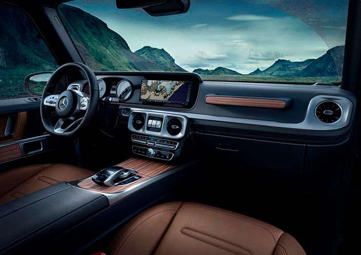 Фото салона Mercedes-Benz G-Class 2019