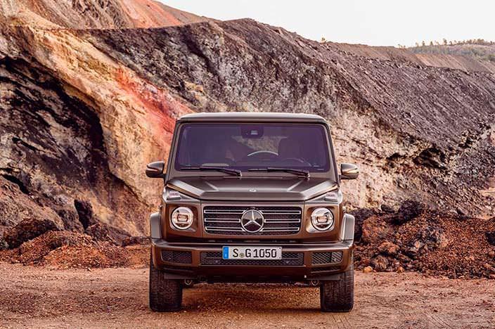 2019 Mercedes-Benz G-Class: старт продаж в Европе в июне