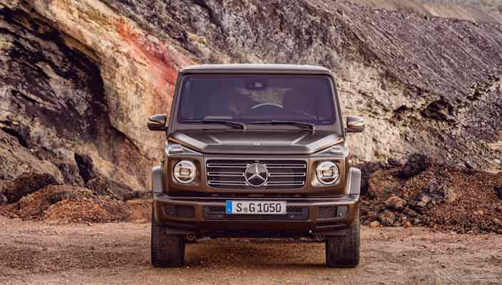 2019 Mercedes-Benz G-Class официально | фото, видео, цены