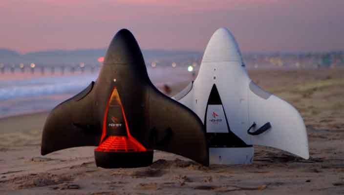 Вышел скутер для подводного плавания AquaJet H2 от Hoverstar