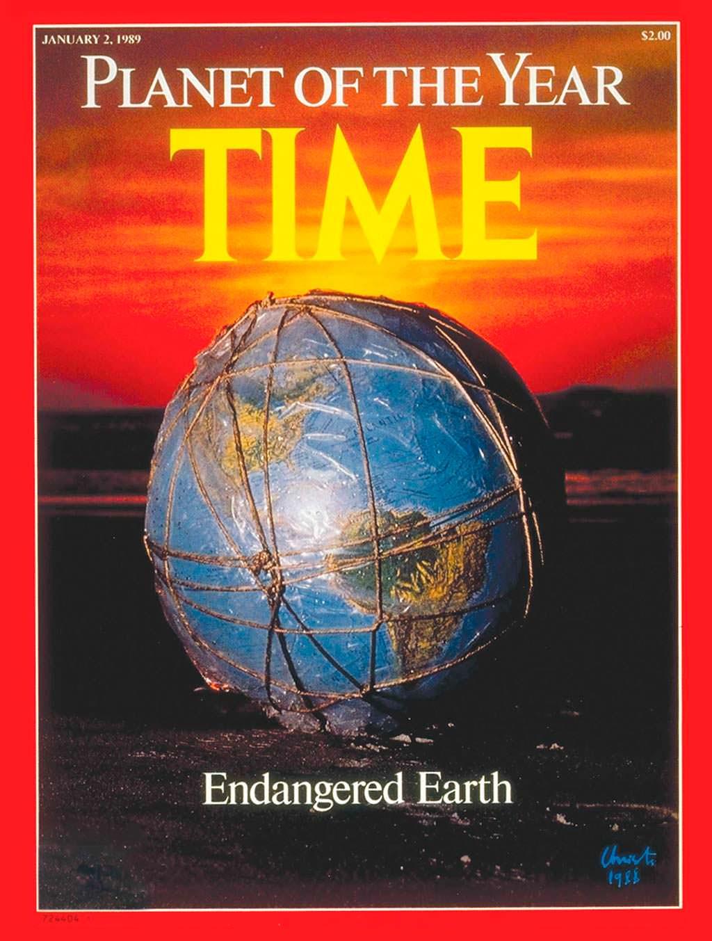 1988 год. Земля под угрозой исчезновения на обложке Time