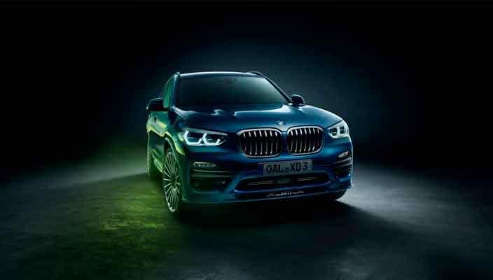 Новая Alpina XD3 из BMW X3 вышла с дизелем 3.0 V6   фото