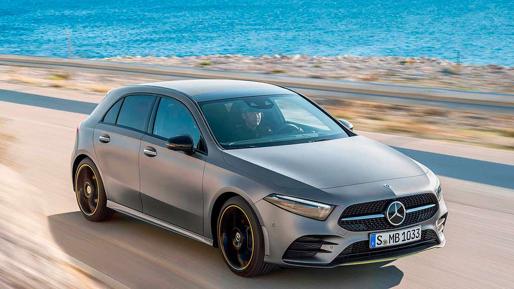 Новое поколение Mercedes-Benz A-Class 2019