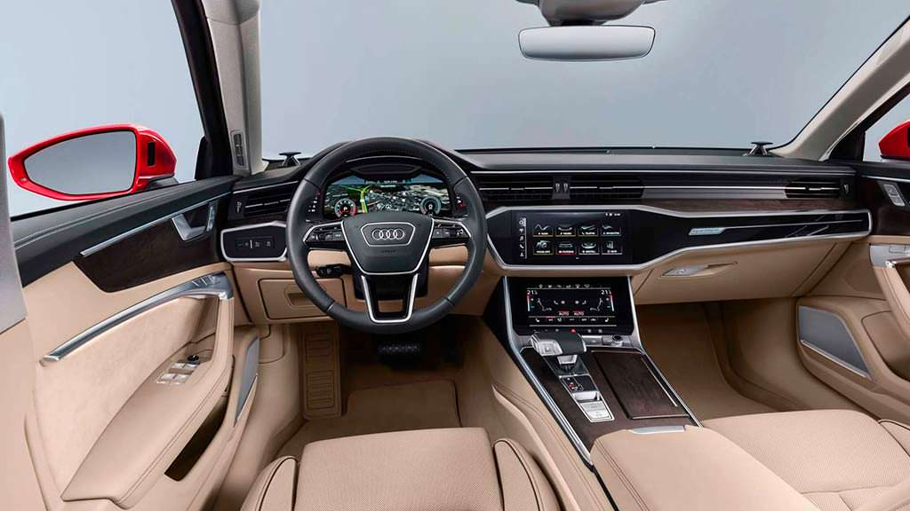 Фото салона 2019 Audi A6 C8