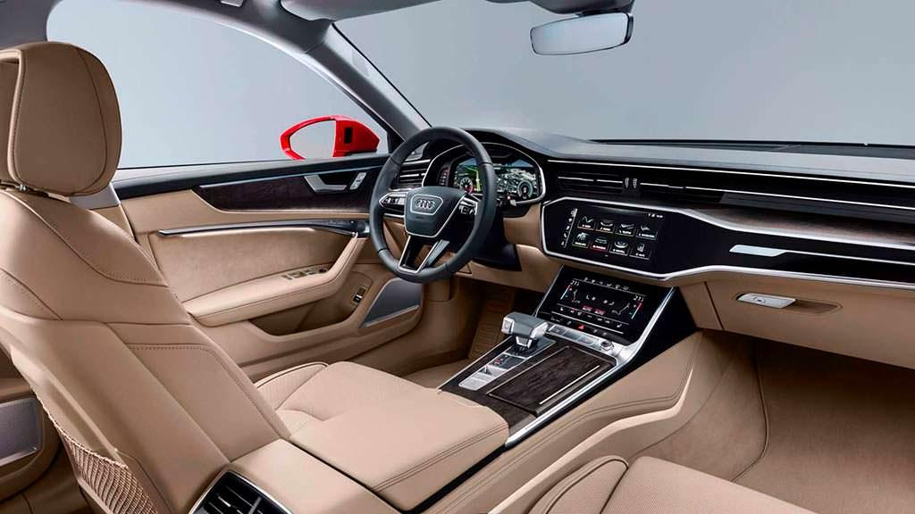 Фото внутри Audi A6 C8