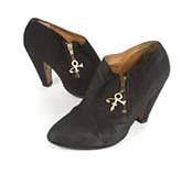 Чёрная обувь Принса